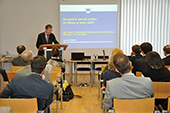 László Andor - 12/04/2013 - Commissioner Andor at the Max Planck Institute for Social Law and Social Policy, Munich