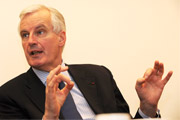 Commissioner Barnier will launch a Green Paper on auditing in the autumn