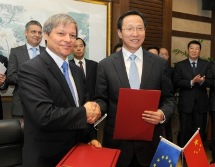 Signature of the EU-China Cooperation Plan on Agriculture and Rural Development, with Minister for Agriculture Han Changfu