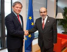 Commissioner Dacian Cioloş and José Graziano da Silva, Director General of the Food and Agriculture Organization (FAO) of the United Nations