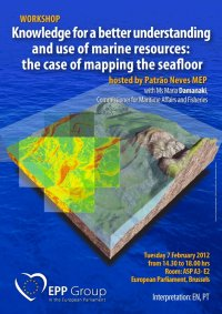 Workshop on the mapping of the seabed (European Parliament, Brussels)