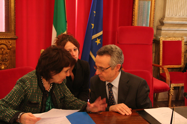 Meeting with Mr Mario CATANIA, Italian Minister for Agriculture Policy, Food and Forests