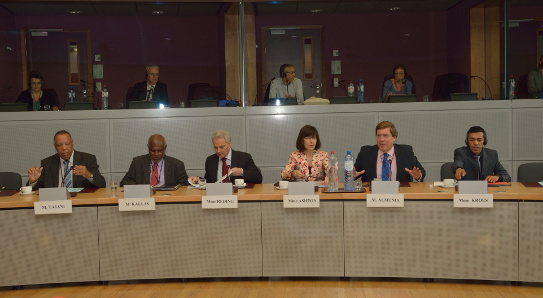 Commissioner Maria Damanaki met with a group of Members of the European Parliament from European outermost regions