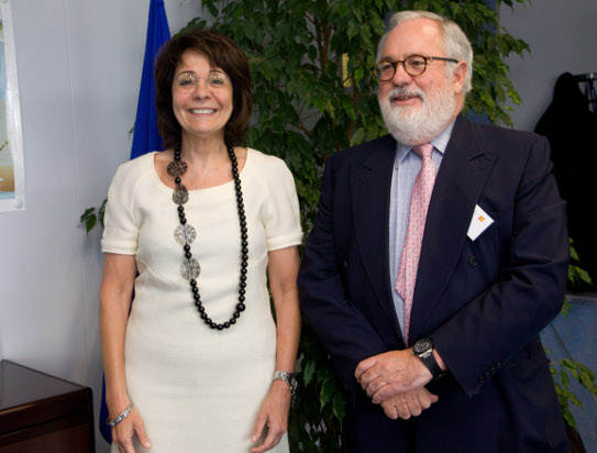 Commissioner Maria Damanaki met with M. Miguel Arias Cañete, Spanish Minister for Agriculture, Food and Environmental Affairs