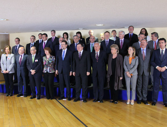 The Spanish government, conducted by M. Mariano Rajoy, Prime Minister of spain, officially visited the European Commission