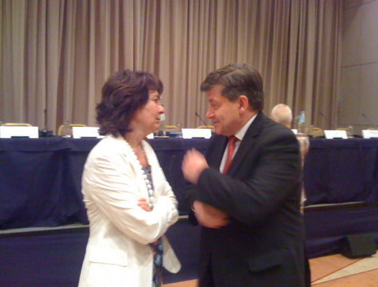 Commissioner Damanaki met with M. Guy Ryder, Director General of the International Labour Organisation