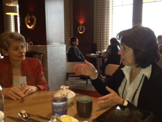 Commissioner Damanaki also met with Mrs Irina Bokova, the Director General of the UNESCO.