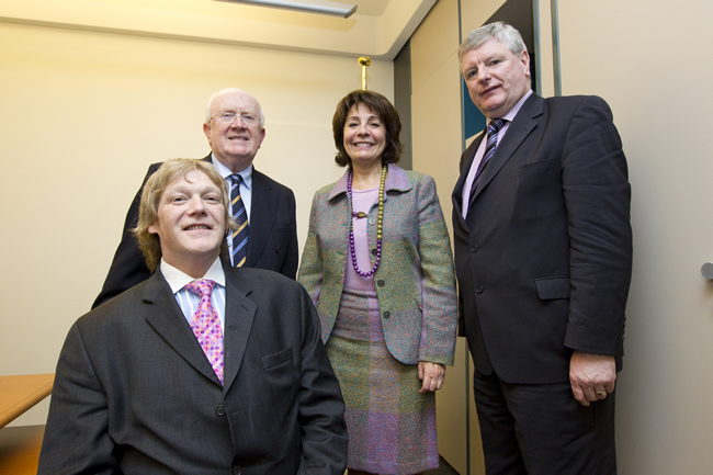 Commissioner Damanaki meets with MEP Pat the Cope Gallagher, Liam Aylward and Brian Crowley