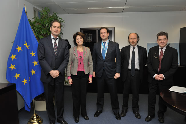 Commissioner Maria Damanaki receives representatives from the General Committee for Agricultural Cooperation in the EU (COGECA)