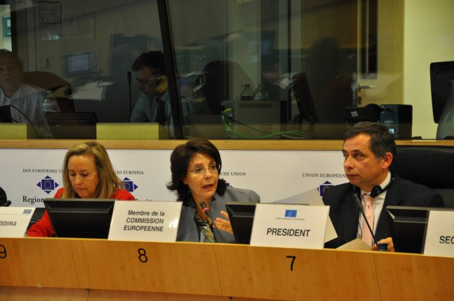 15/03/2011: Commissioner Maria Damanaki speaking at the Meeting of the Employers' Group of the European Economic and Social Committee
