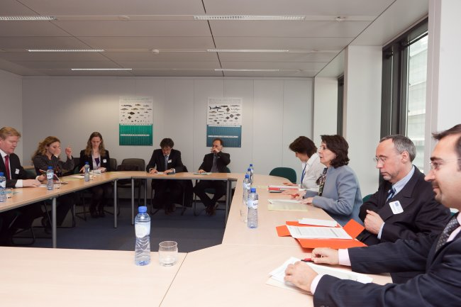 15/03/2011: Meeting with representatives from the European Fisheries Technology Platform