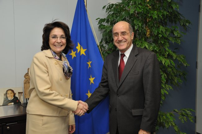 16/03/2011: Meeting with Mr Dimitris Eliades, Cypriot Minister for Agriculture, Natural Resources and Environment