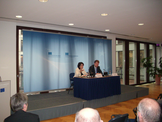 17/03/2011: Commissioner Maria Damanaki at the meeting on the future of the Common Fisheries Policy, organized by the EC Representation in Berlin