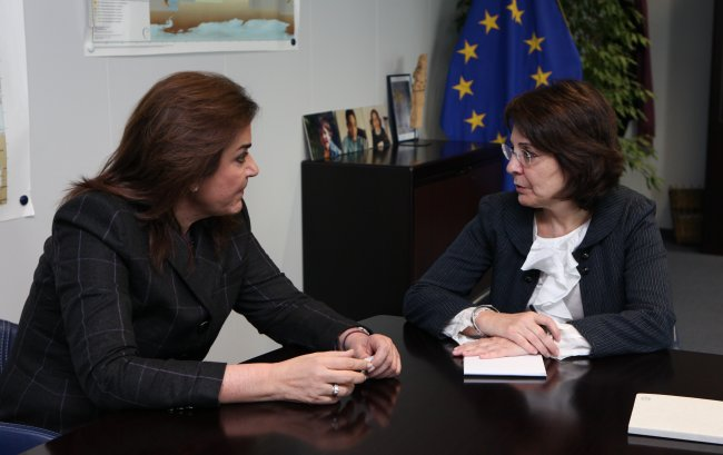 Meeting with Dora Bakoyannis, Member of the Greek Parliament and former Greek Minister for Foreign Affairs