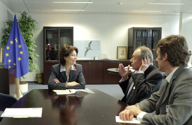 Meeting with Michel Rocard, Ambassador for Polar Affairs and Former French Prime Minister