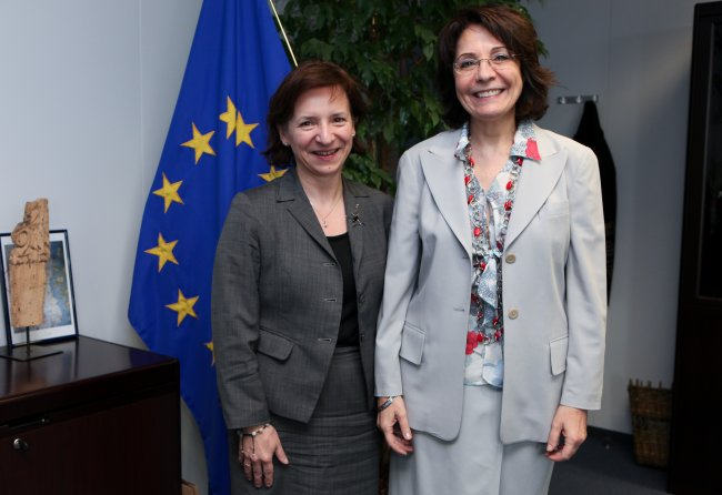 Meeting with Anna Wypych-Namiotko, Polish Undersecretary of state for Maritime Affairs