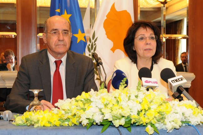 Joint press conference with Mr. Dimitris ELIADES, Cypriot Minister for Agriculture, Natural Resources and Environment