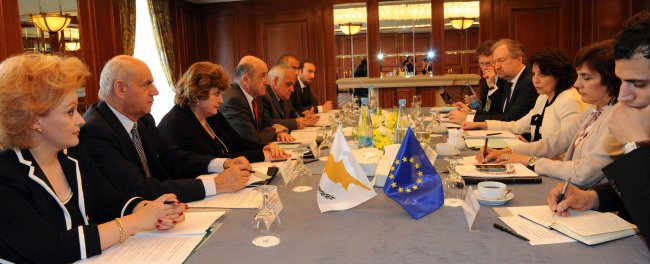 Meeting with Mr. Dimitris ELIADES, Cypriot Minister for Agriculture, Natural Resources and Environment