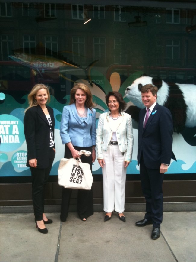 Commissioner Maria Damanaki at the GLOBE World Oceans Day Forum, London