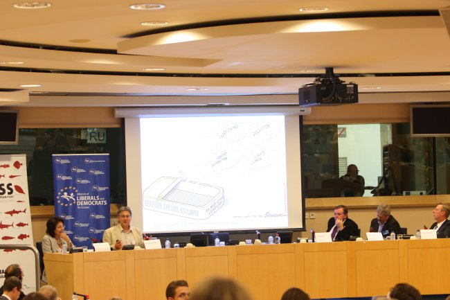 "Conference ""No Fish left on the Plate - What can we expect from the Common Fisheries Policy Reform?"" (European Parliament, Brussels)"