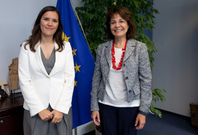 Meeting with Assunção Cristas, Portuguese Minister for Agriculture, Maritime Affairs, Environment and Regional Planning