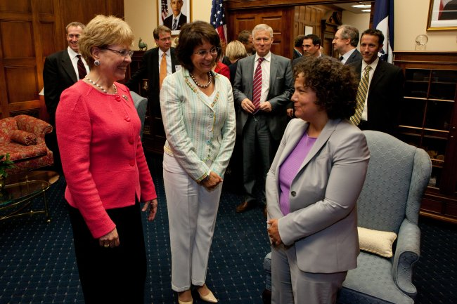 Commissioner Damanaki meeting White House Council on Environmental Quality Chair Nancy Sutley and Dr Jane Lubchenco, NOAA Administrator