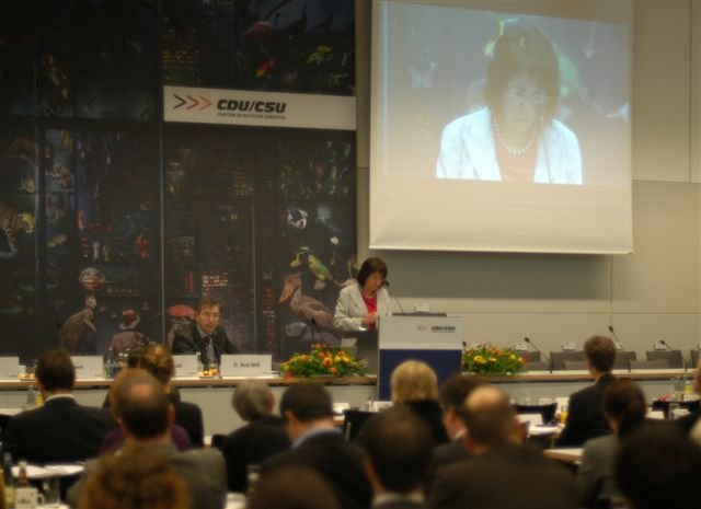 "Commissioner Damanaki delivers her keynote speech at the Congress ""Rio+20: are the oceans sinking?"""