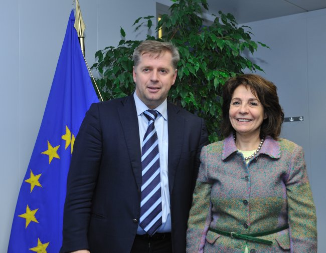 Meeting with Mr. Petr BENDL, Minister for agriculture of the Czech Republic
