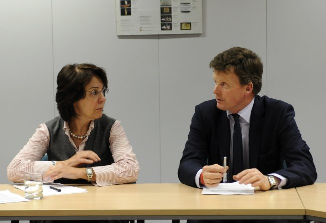 Commissioner Maria Damanaki meets Mr Richard Benyon, British Parliamentary Under Secretary of State in charge of Natural Environment and Fisheries