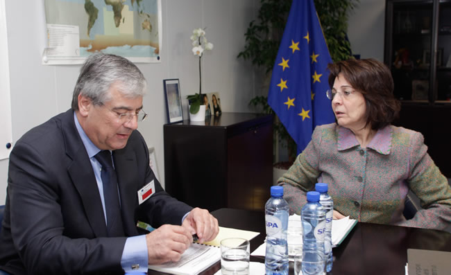 Meeting with Efthymios Flourentzos, Cypriot Minister for Communications and Works