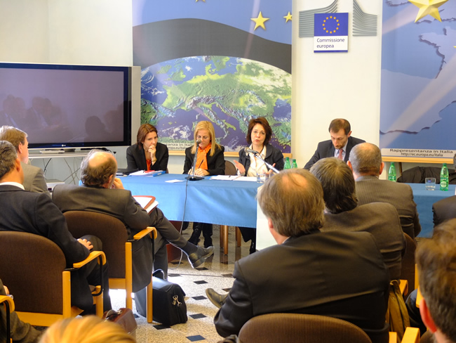Meeting with representatives of Italian NGOs and stakeholders