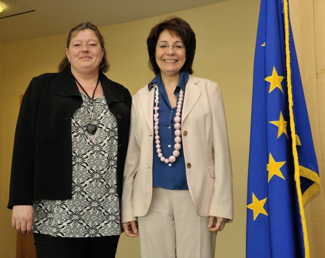Commissioner Maria Damanaki meets Mette Gjerskov, Danish Minister for Food, Agriculture and Fisheries