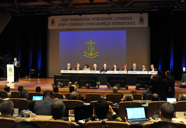 Opening ceremony of the XVIII International Hydrographic Conference, Monaco