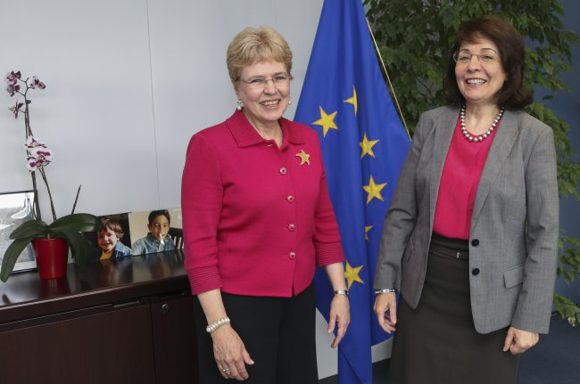 Commissioner Maria Damanaki welcomes Dr Jane Lubchenco, US Under-Secretary of Commerce for Oceans and Atmosphere
