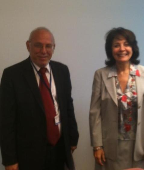 Commissioner Maria Damanaki meets Sophocles Aletraris, Cypriot Minister for Agriculture, Natural Resources and Environment