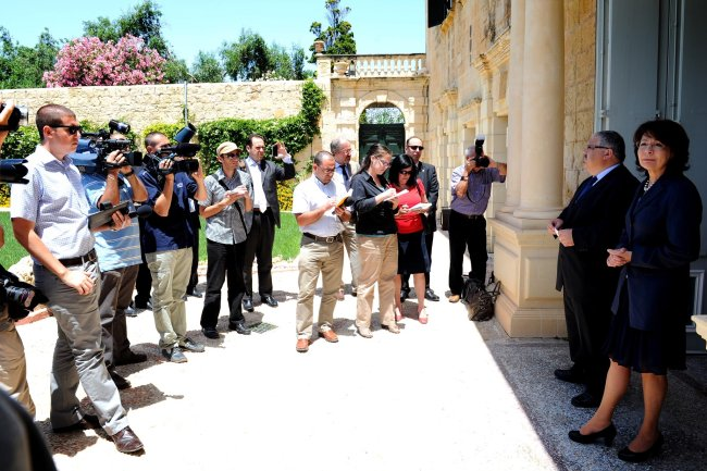 Press conference with Mr George PULLICINO, Maltese Minister for Resources and Rural Affairs