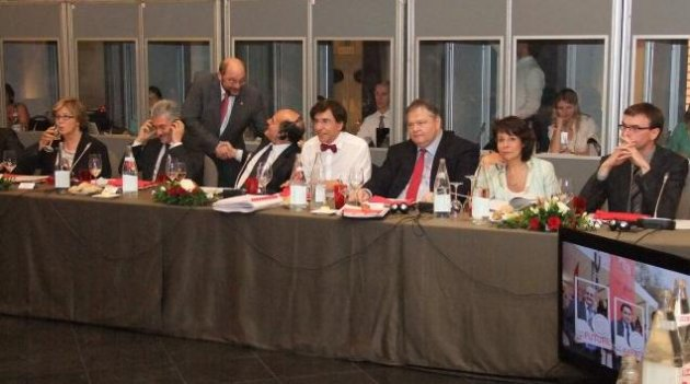 Commissioner Maria Damanaki took part in the Meeting of European Socialist Leaders, organised by S&D and PES