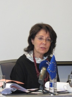 Press conference of Commissioner Maria Damanaki, in Reykjavik