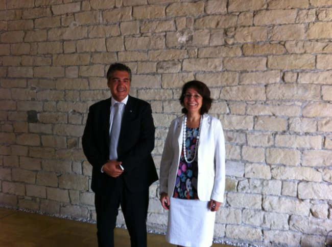 Commissioner Maria Damanaki met with Mr Constantinos MOUSOUROULIS, Greek Minister for Shipping & Aegean sea
