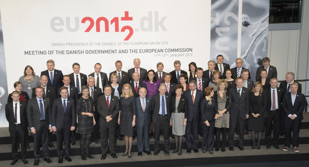 Inaugural meeting of the Danish Presidency of the Council of the EU with the European Commission