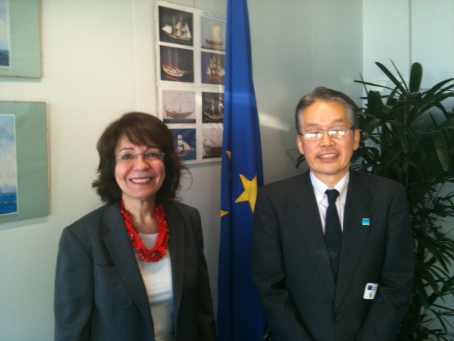 Commissioner Maria Damanaki meets Mr Masa Miyahara, Chair of the International Commission for the Conservation of Atlantic Tunas (ICCAT)