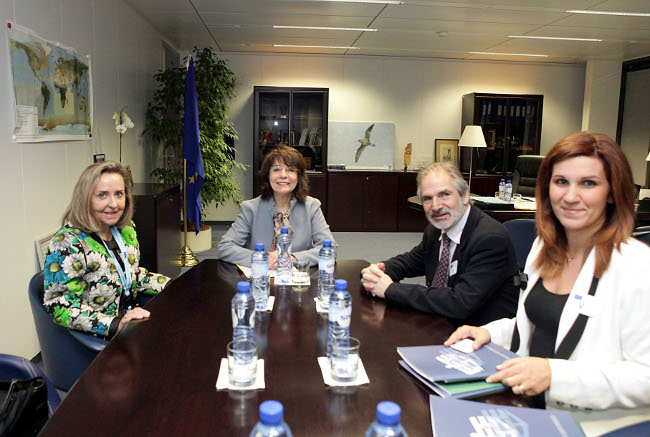 Commissioner Damanaki meets representatives of the Greek Shipowners Association