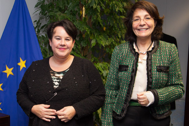 Commissioner Maria Damanaki met with Sharon Dijksma, Dutch Minister for Agriculture