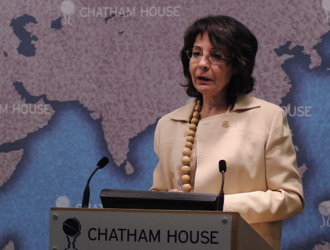 Commissioner Damanaki gave a speech at Chatham House, London at the 8th International Forum on Illegal, Unreported and Unregulated (IUU) Fishing