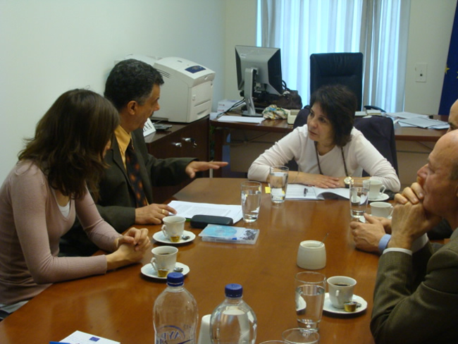 Meeting with the Federation of ecological organizations protecting Corinthian Gulf