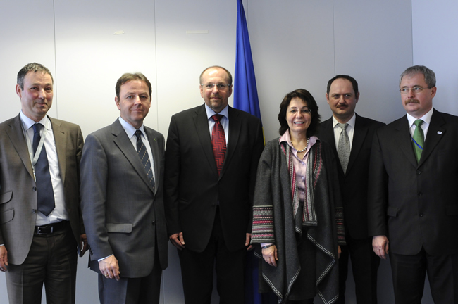 21/02/2011: Maria Damanaki meets Ministers from five land-locked Member States