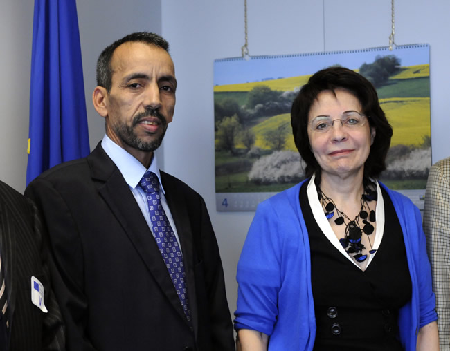 Meeting with Aghdhefna Ould Eyih, Mauritanian Minister for Fisheries and Maritime Economy