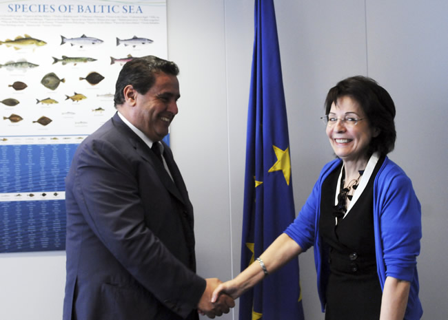 Meeting with Aziz Akhannouch, Moroccan Minister for Agriculture and Fisheries