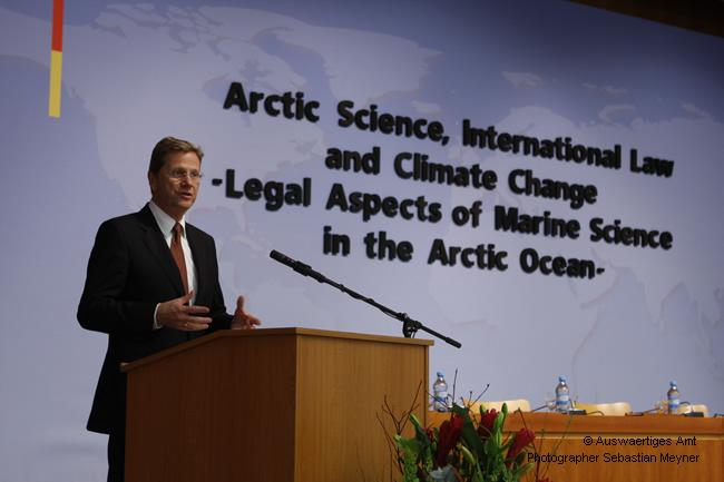 "Conference: ""Arctic Science, International Law and Climate Change - Legal Aspects of Marine Science in the Arctic Ocean"", Berlin"