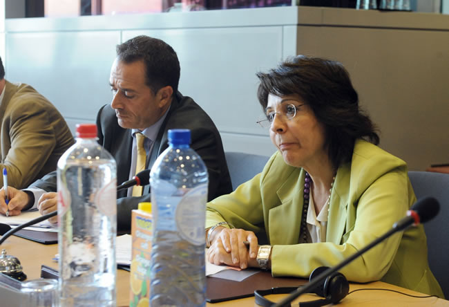 13/07/2010: Maria Damanaki discusses EU Fisheries Partnership Agreements (Morocco) with the members of the PECH Committee of the European Parliament
